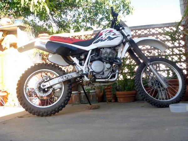 Фотогалерея мотоцикла Honda-XR-600 - фото 1