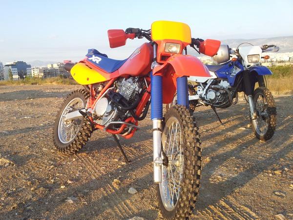 Фотогалерея мотоцикла Honda-XR-600 - фото 2
