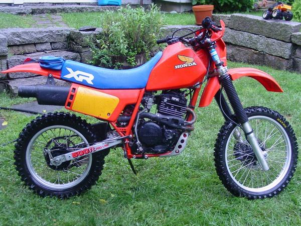 Фотогалерея мотоцикла Honda-XR-600 - фото 4