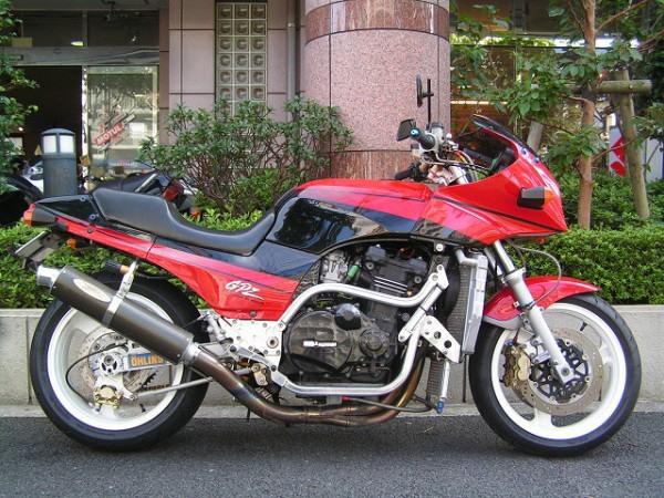Фотогалерея мотоцикла Kawasaki GPZ900R -фото 11