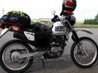 Suzuki Djebel 200 - простой и надежный мотоцикл