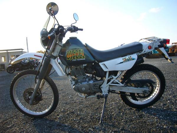 Фотогалкрея мотоцикла Suzuki Djebel (Cузуки Джебел) 200 - фото 6
