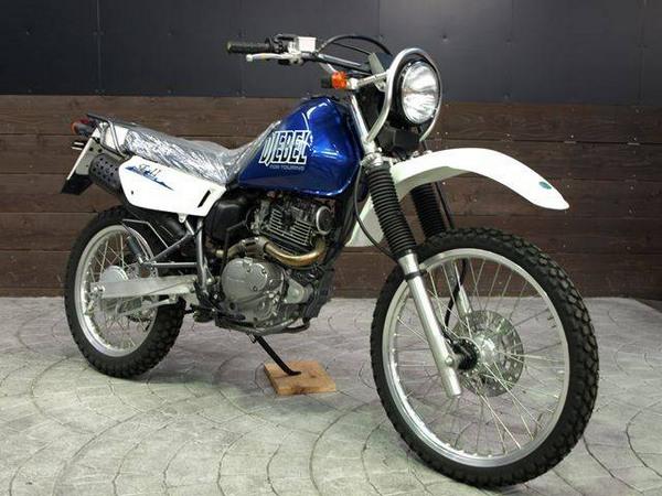 Фотогалкрея мотоцикла Suzuki Djebel (Cузуки Джебел) 200 - фото 7