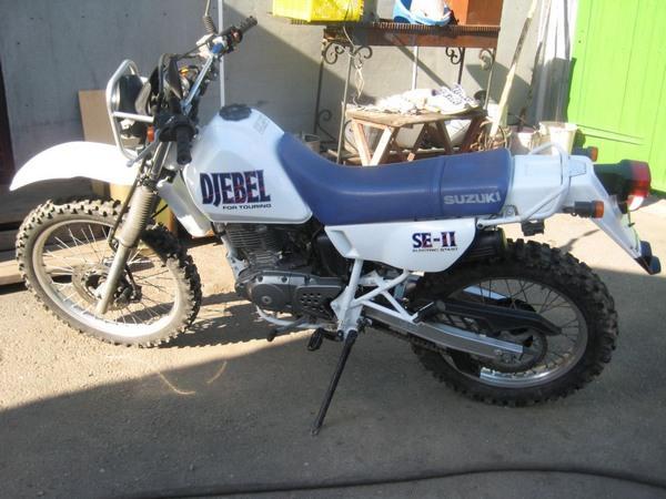 Фотогалкрея мотоцикла Suzuki Djebel (Cузуки Джебел) 200 - фото 9