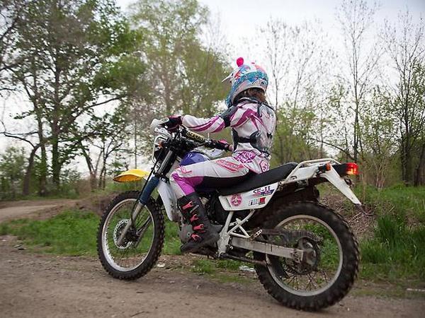 Фотогалкрея мотоцикла Suzuki Djebel (Cузуки Джебел) 200 - фото 10