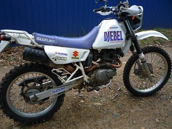 Фотогалкрея мотоцикла Suzuki Djebel (Cузуки Джебел) 200 - фото 11