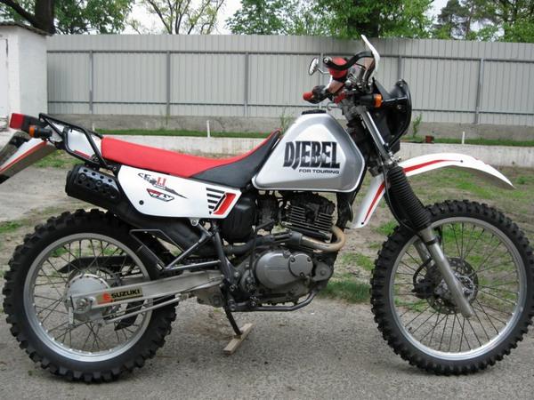 Фотогалкрея мотоцикла Suzuki Djebel (Cузуки Джебел) 200 - фото 12