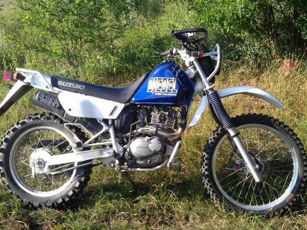 Фотогалкрея мотоцикла Suzuki Djebel (Cузуки Джебел) 200 - фото 14