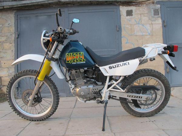 Фотогалкрея мотоцикла Suzuki Djebel (Cузуки Джебел) 200 - фото 4