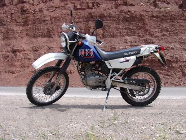Фотогалкрея мотоцикла Suzuki Djebel (Cузуки Джебел) 200 - фото 2