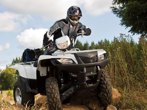 Обзор квадроцикла Suzuki Kingquad (Сузуки Кингквад) 750