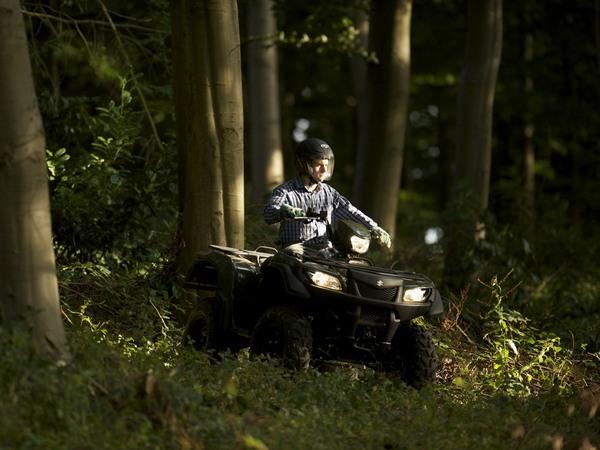 Фотогалерея Suzuki KingQuad 750AXi - фото 14