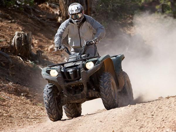 Фотогалерея мотоцикла Yamaha Grizzly 550 FI - фото 12