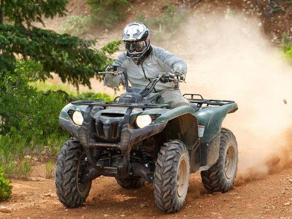 Фотогалерея мотоцикла Yamaha Grizzly 550 FI - фото 11