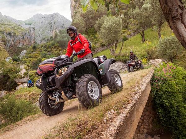 Фотогалерея мотоцикла Yamaha Grizzly 550 FI - фото 9