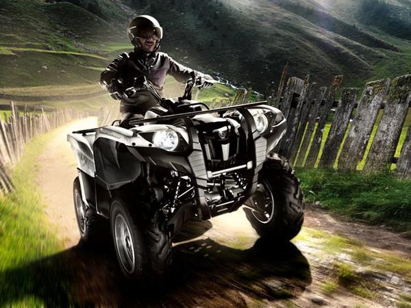Фотогалерея мотоцикла Yamaha Grizzly 550 FI - фото 7