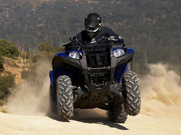 Фотогалерея мотоцикла Yamaha Grizzly 550 FI - фото 3