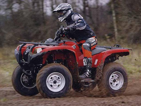 Фотогалерея мотоцикла Yamaha Grizzly 550 FI - фото 16