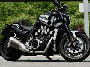 Осовенности мотоцикла Yamaha V Мах