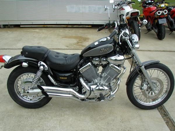 Фотогалерея мотоцикла Yamaha Virago (Ямаха Вираго) 400  - фото 5