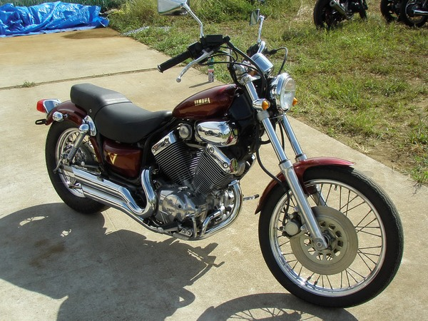Фотогалерея мотоцикла Yamaha Virago (Ямаха Вираго) 400  - фото 6