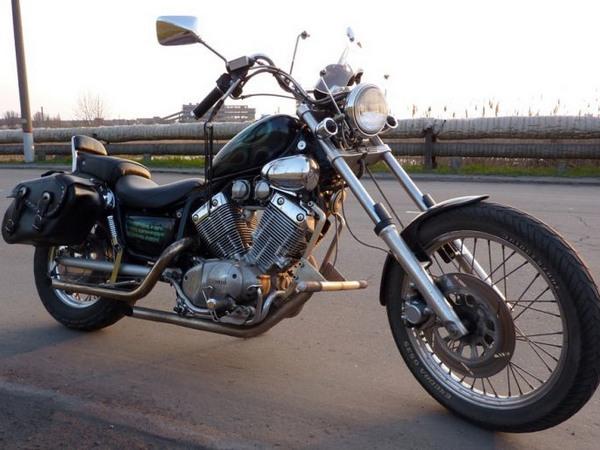 Фотогалерея мотоцикла Yamaha Virago (Ямаха Вираго) 400  - фото 7