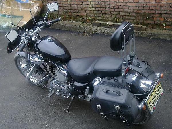 Фотогалерея мотоцикла Yamaha Virago (Ямаха Вираго) 400  - фото 11