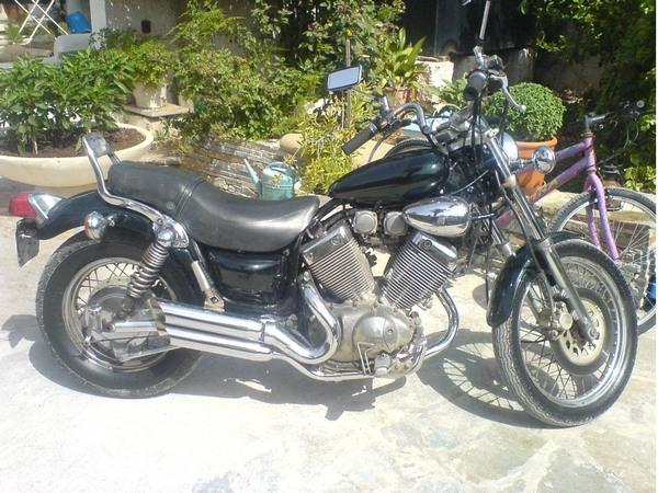 Фотогалерея мотоцикла Yamaha Virago (Ямаха Вираго) 400  - фото 1