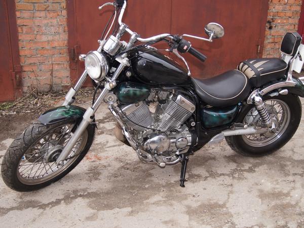 Фотогалерея мотоцикла Yamaha Virago (Ямаха Вираго) 400  - фото 2