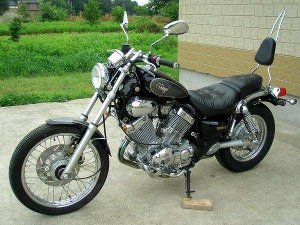 Фотогалерея мотоцикла Yamaha Virago (Ямаха Вираго) 400  - фото 3