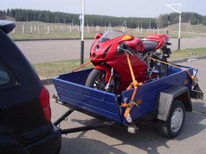 Способы транспортировки мототехники