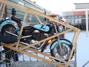 Процесс растаможки мотоцикла в России