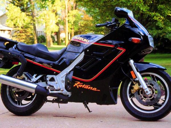 Фотогалерея мотоциклов Suzuki Katana (Cузуки Катана) - фото 6