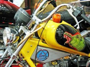 Описание конструкции мотоцикла Кобра