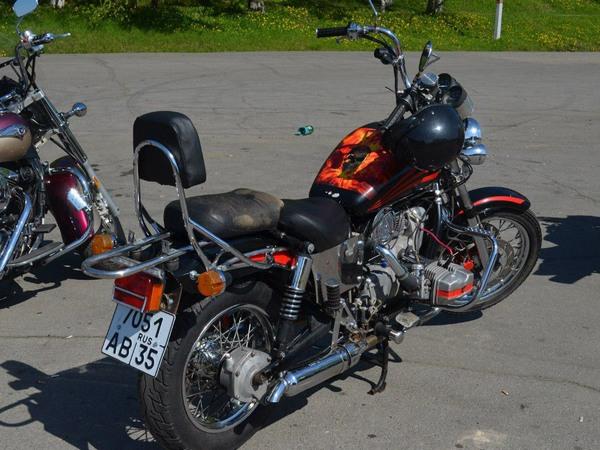 Фотогалерея мотоцикла Урал Вояж - фото 10