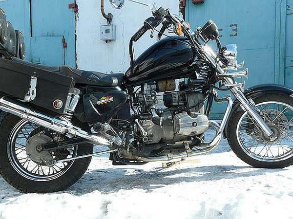 Фотогалерея мотоцикла Урал Вояж - фото 15