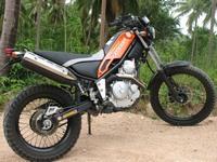 Yamaha Tricker XG 250 - молодежный байк