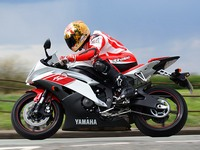 Мотоцикл Ямаха Р 6, внешность которого поражает