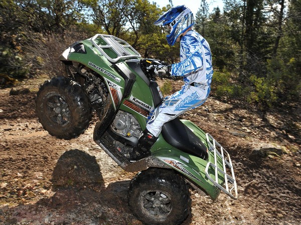Фотогалерея квадроцикла Kawasaki Brute Force 750 - фото 5