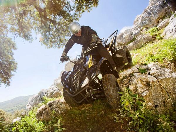 Фотогалерея квадроцикла Yamaha Wolverine 450 - фото 7