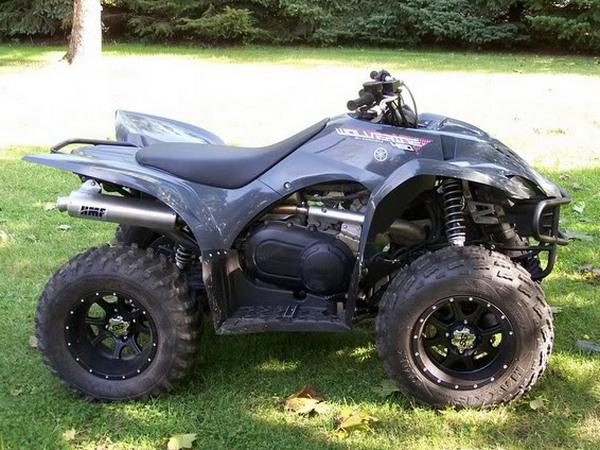 Фотогалерея квадроцикла Yamaha Wolverine 450 - фото 12