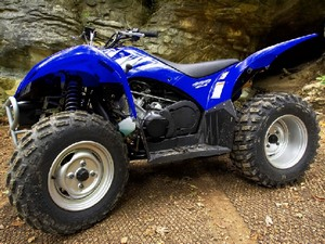 Габаритные размеры квадроцикла Yamaha Wolverine 450