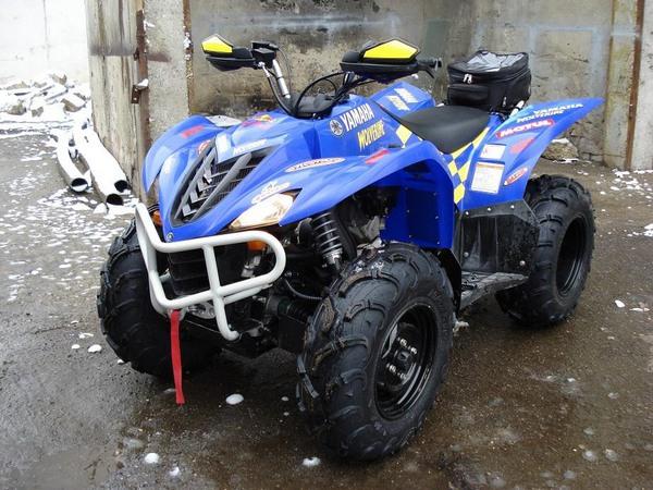 Фотогалерея квадроцикла Yamaha Wolverine 450 - фото 1