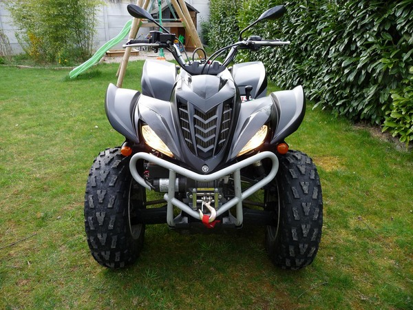 Фотогалерея квадроцикла Yamaha Wolverine 450 - фото 2