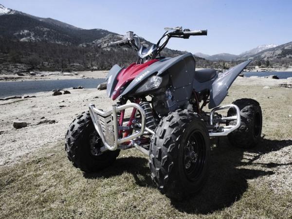 Фотогалерея квадроцикла Yamaha Raptor 250 R  - фото 4