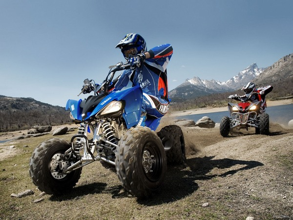 Фотогалерея квадроцикла Yamaha Raptor 250 R  - фото 5