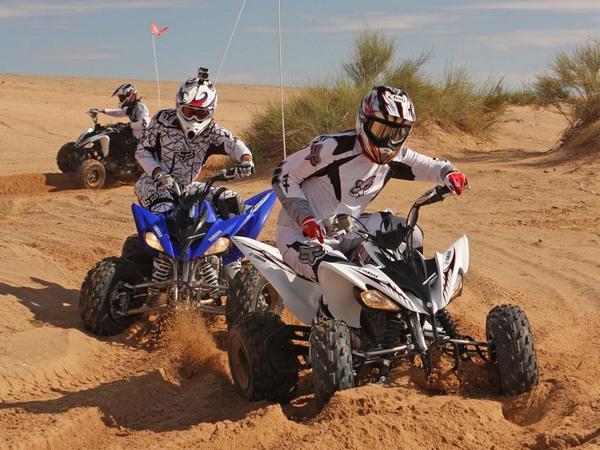 Фотогалерея квадроцикла Yamaha Raptor 250 R  - фото 7