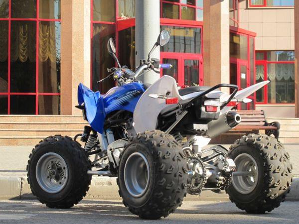 Фотогалерея квадроцикла Yamaha Raptor 250 R  - фото 11