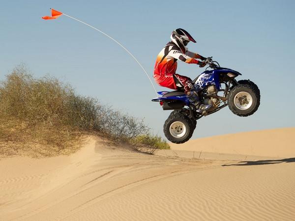 Фотогалерея квадроцикла Yamaha Raptor 250 R  - фото 1