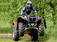 Характеристики и описание квадроцикла от Ямаха - Гризли 550